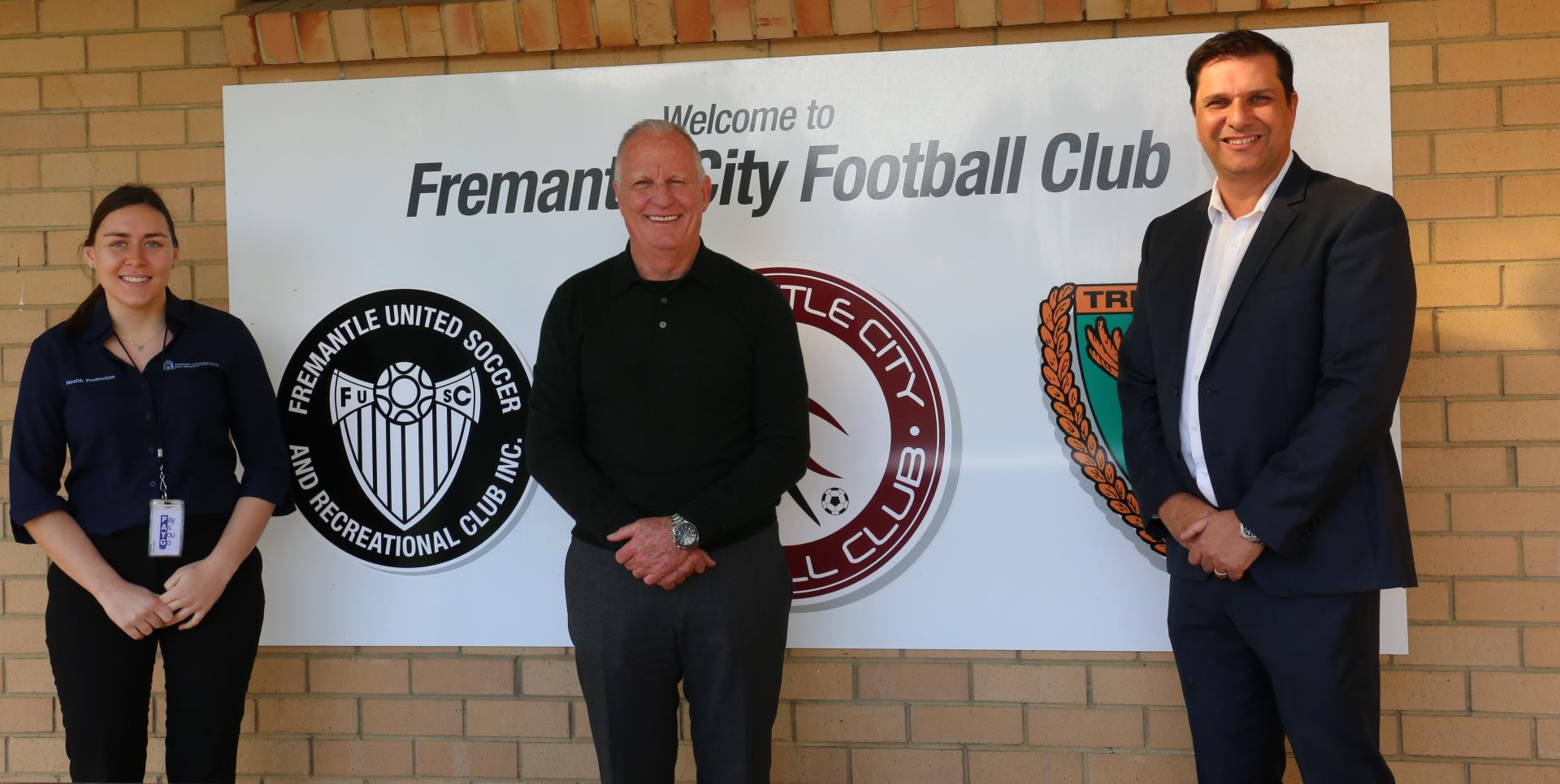 Fremantle City Football Club kicks off with healthy choices
