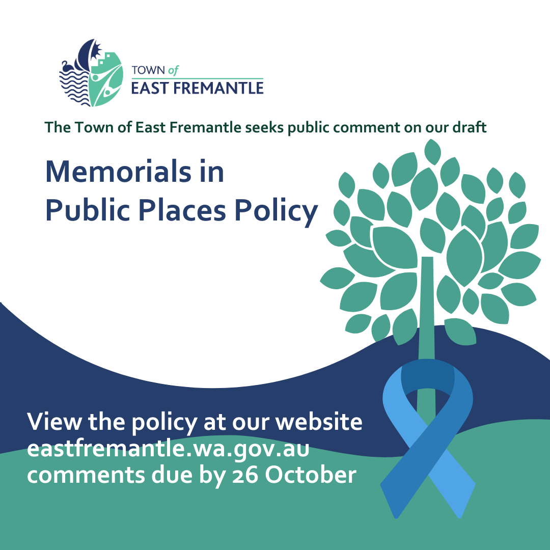 Memorials in Public Places Policy
