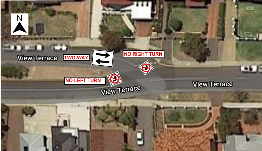 View Terrace - Change of Traffic Flow